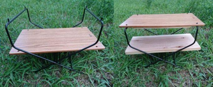 ハングアウトのファイヤーサイドテーブルを多段に構成