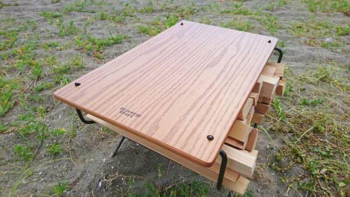 ハングアウトのファイヤーサイドテーブルの天板