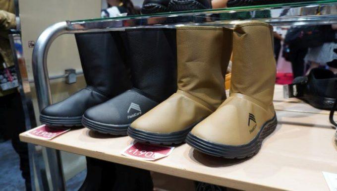 ワークマンの防水フィールドブーツ