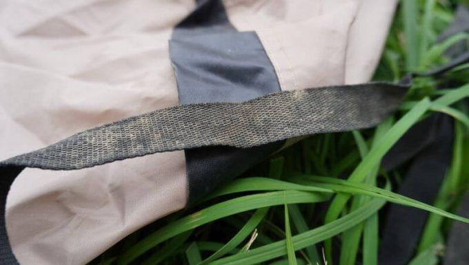 テントの汚れ