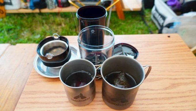 ウィズウェル ウォーター ドリッパーで淹れたコールドブリューコーヒー