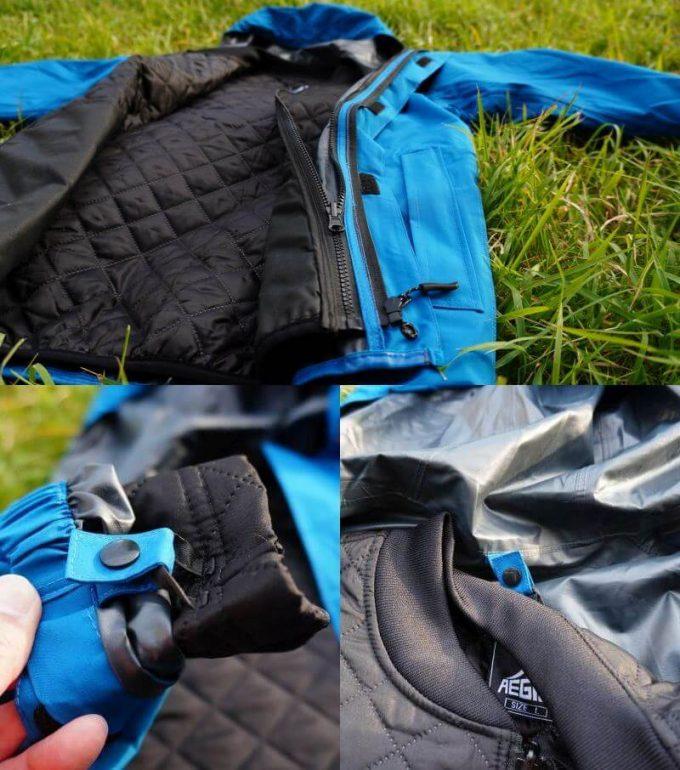 ワークマンの3in1(スリーインワン)防水防寒ジャケットのインナーを連結