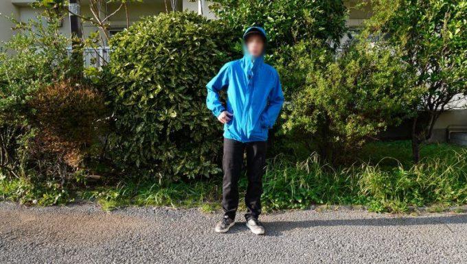 ワークマンの3in1(スリーインワン)防水防寒ジャケットを普段着で着用