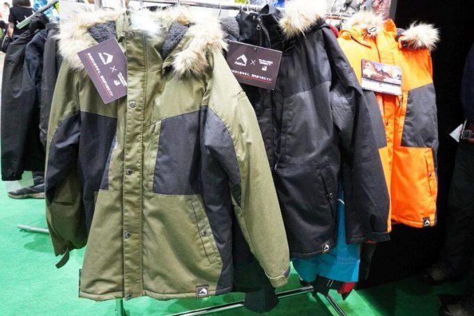ワークマンの綿リップ防風防寒ジャケット