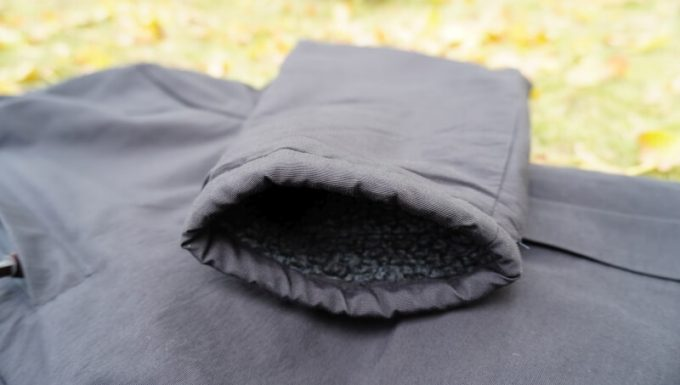 gym master(ジムマスター) リバーシブル マウンテン ジャケットの裾(スソ)