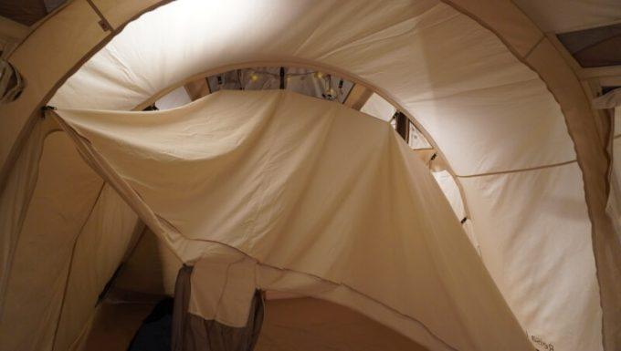 ノルディスク レイサ6レガシーのインナーテントの吊るし方