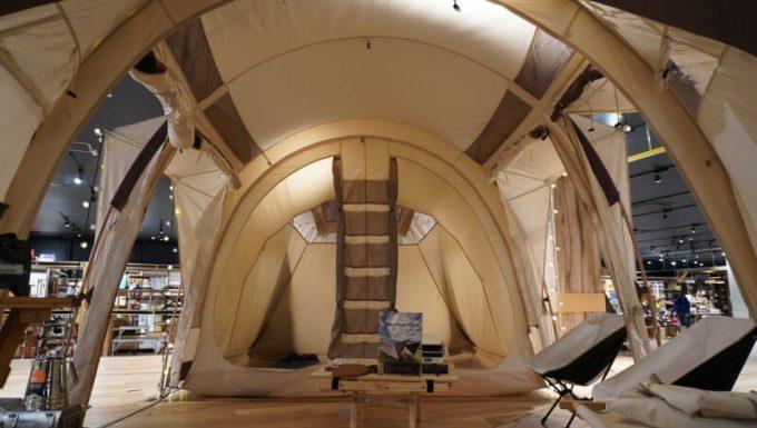 ノルディスク レイサ6レガシーのテント内部