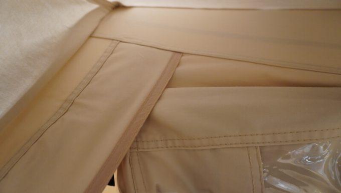 ノルディスク レイサ6レガシーの縫製(外側)