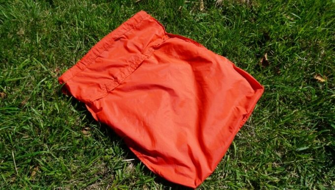 フェリシモ リブ イン コンフォート×魅惑のキャンプ たっぷり入って本当に使える!薄くて軽い親子バックセット 小バックの裏生地