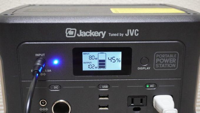 JACKERY×JVC BN-RB05-Cはパススルーで動作する