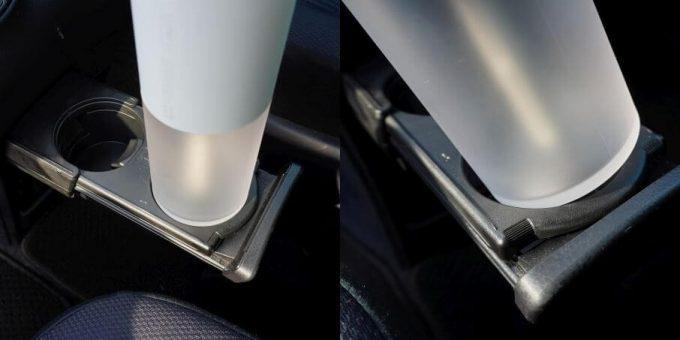 車(VOXY)のドリンクホルダーにLUMENA加湿器(H2)は入らない