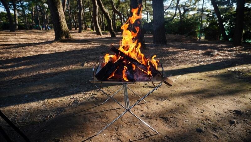 ハングアウト(HangOut)の焚火台 フレイムピット(Flame Pit)