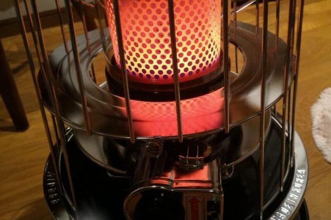 日本仕様JHIA認証 NEWアルパカストーブ コンパクト(newAlpaca)の燃焼状態