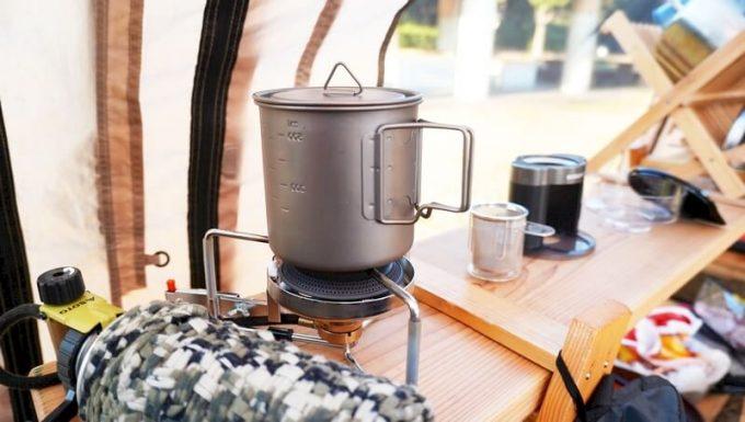 Oceanrich Plus+でコーヒーを淹れる手順(お湯を沸かす)