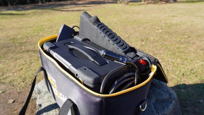 ボルトマジック ポータブル電源 PB450タフの収納バック(オプション)