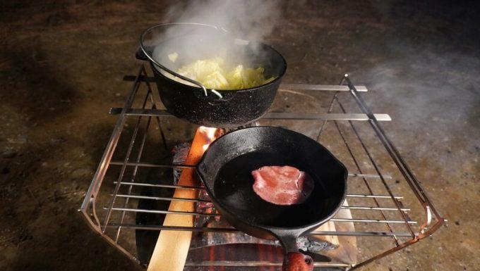 RAPCA(ラプカ)でダッチオーブンとスキレットを使う