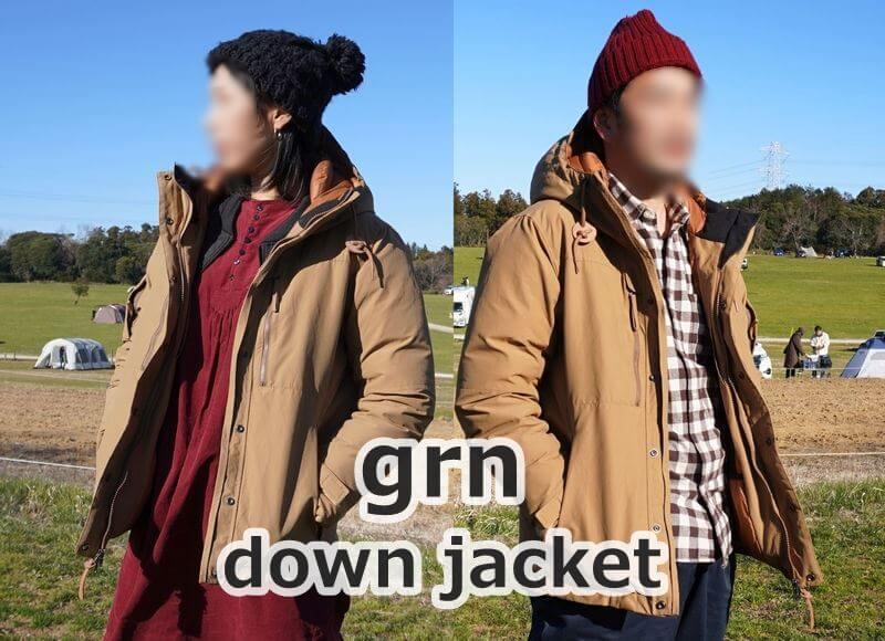 grn(ジーアールエヌ)ダウンジャケット