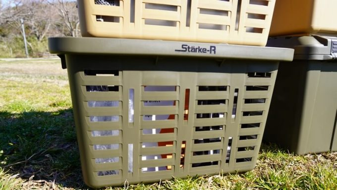 スタークアール(Starke-R)バスケットは中身が見える