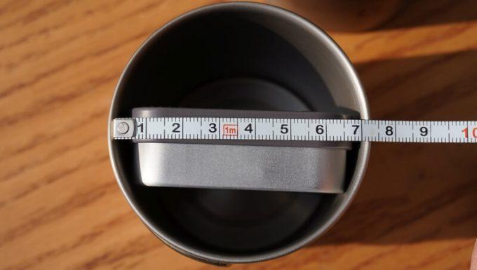Outlery食器セットが入るマグカップのサイズ