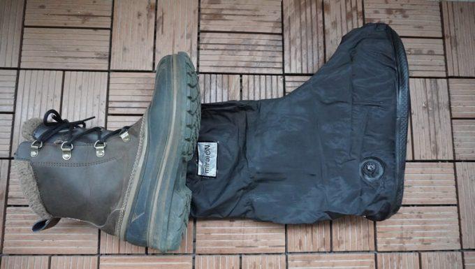 miraiON レインシューズカバーと冬用ブーツ