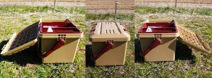 スタークアール(Starke-R)ボックスは両側から開く