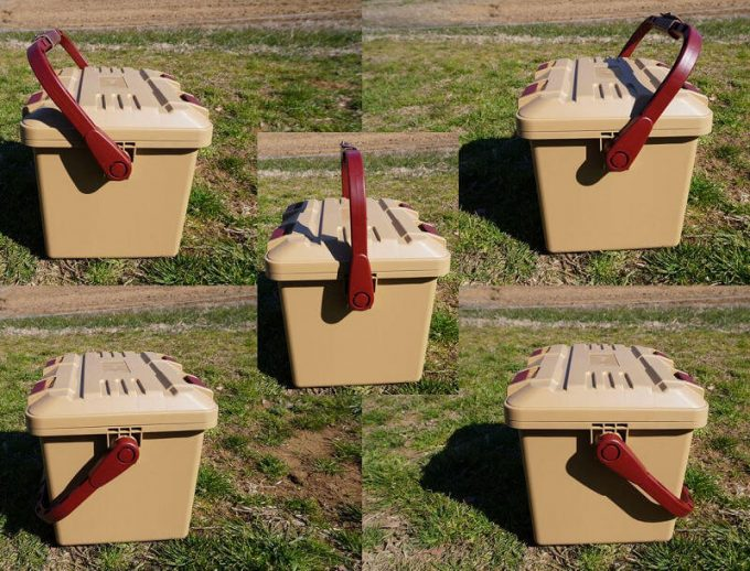 スタークアール(Starke-R)ボックスのハンドルは自立する