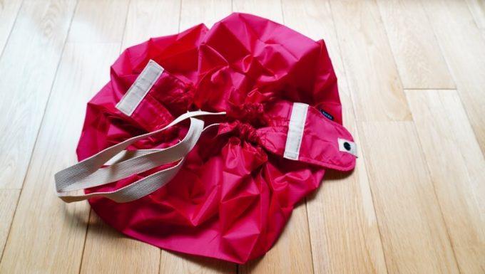 シュパット(Shupatto)の折りたたみ方1