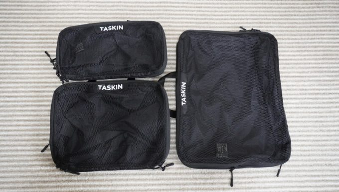 タスキン エアーデュオ 3種類のサイズ比較