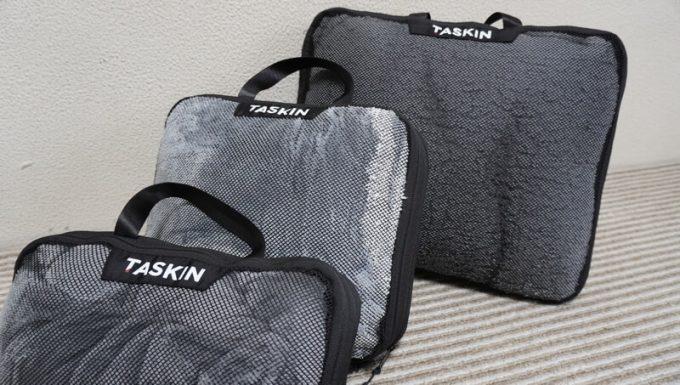 タスキン エアーデュオで圧縮した毛布の詳細
