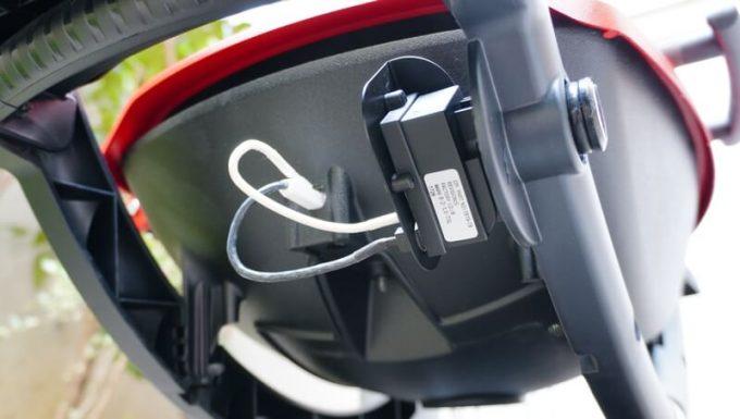 Weberガスグリル(Q1250)の使い方6 ライターでも着火できる