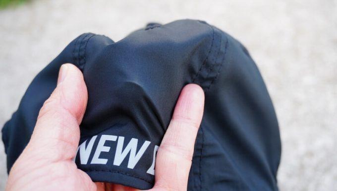 ニューエラ アウトドア バイクキャップ テック ストレッチの生地は柔らかい2