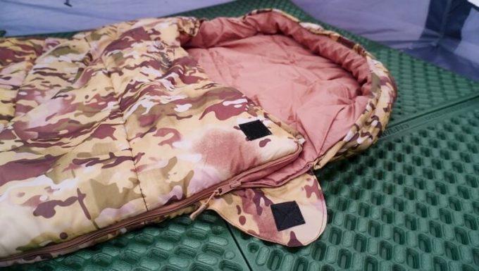 スナグパックの寝袋「マリナー スクエア」の縫製や作り