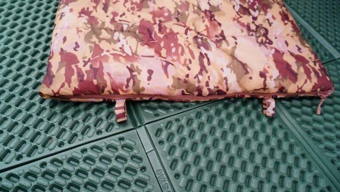 スナグパックの寝袋「マリナー スクエア」を干す時に使う輪っか