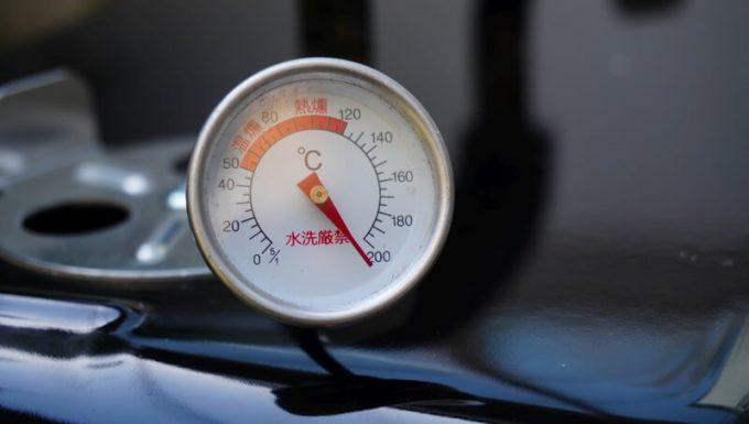 WeberのGo Anywareの温度が200℃