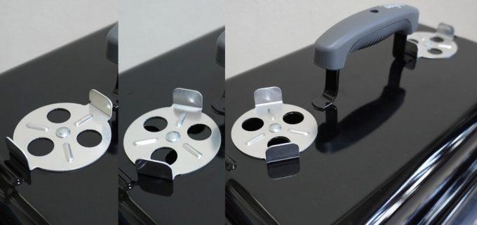 WeberのGo Anywareの上部の通気孔