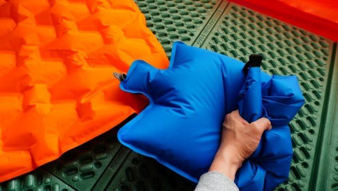 ネイチャーハイクのポンプバッグの使い方(袋を潰す)