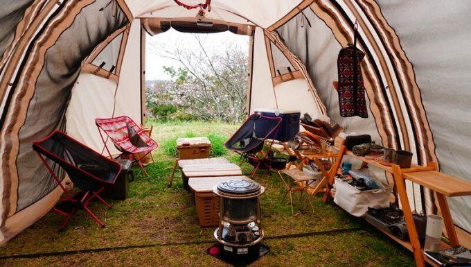 千葉のキャンピングヒルズ鴨川でキャンプ