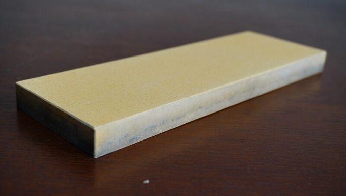 シャプトンの砥石「刃の黒幕」オレンジ中砥(1000)の砥石