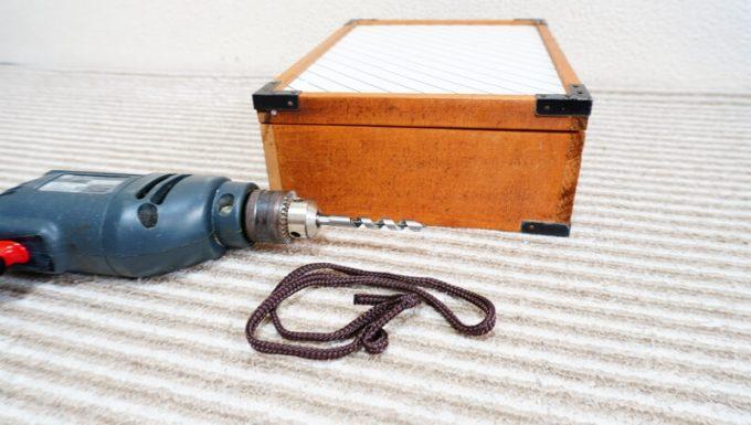 自作スパイスボックス ハンドルの材料
