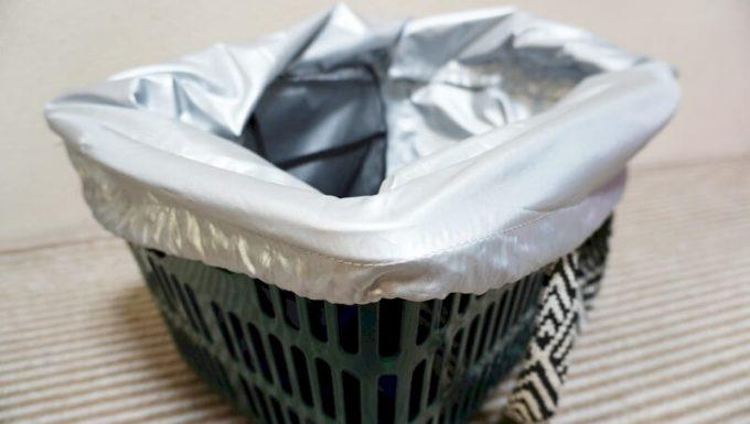 フェリシモ はまじ保冷素材レジかごトートのカバーのサイズは買い物カゴぴったり