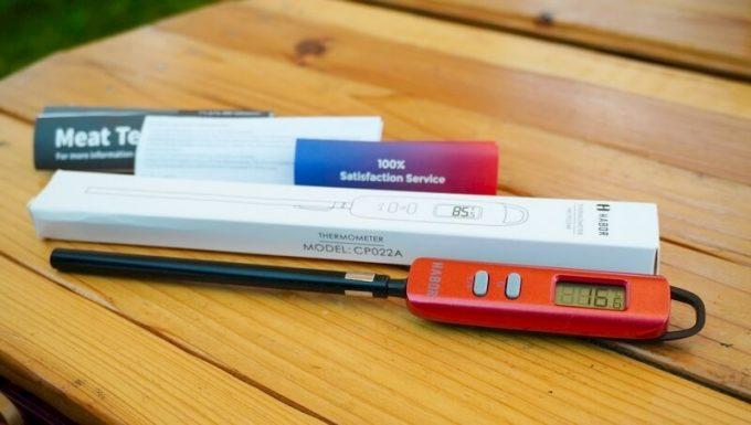 Haborの調理温度計の付属品