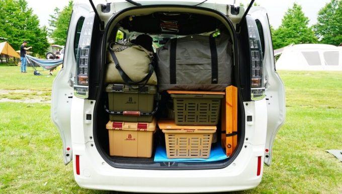 フェリシモ USEDo 超ビッグサイズナイロンバッグを車載する