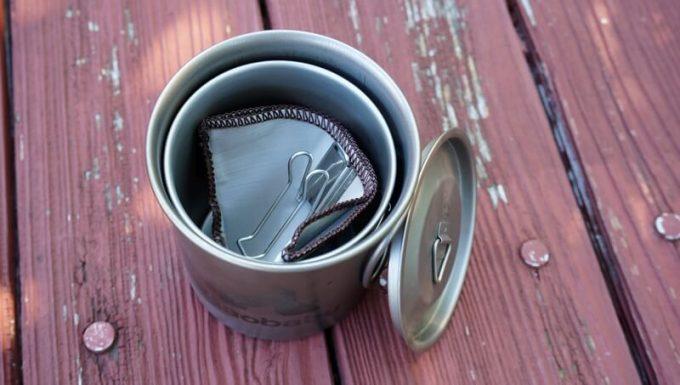 ステンレス珈琲フィルターはマグカップに入る