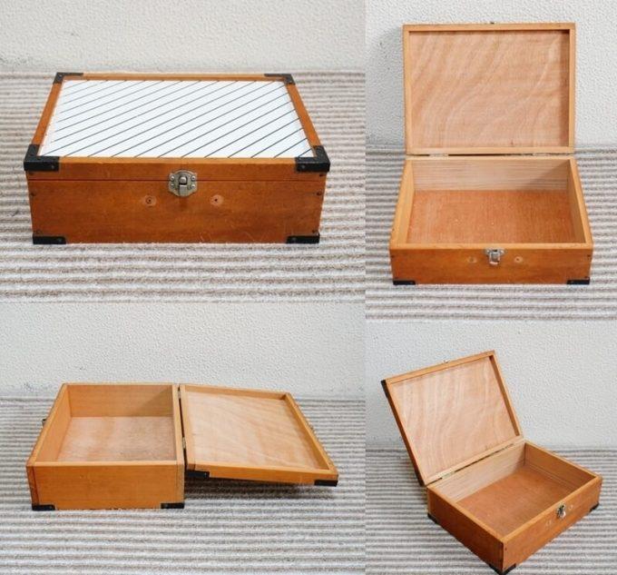 スパイスボックスを自作するための木箱