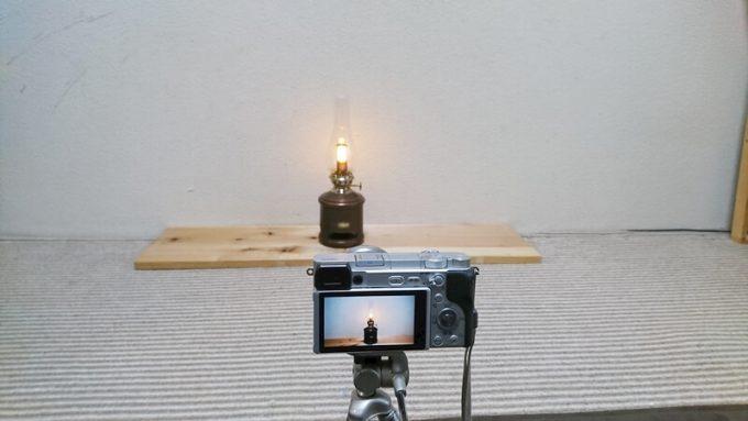 アラジン ランタンスピーカーの音を撮影