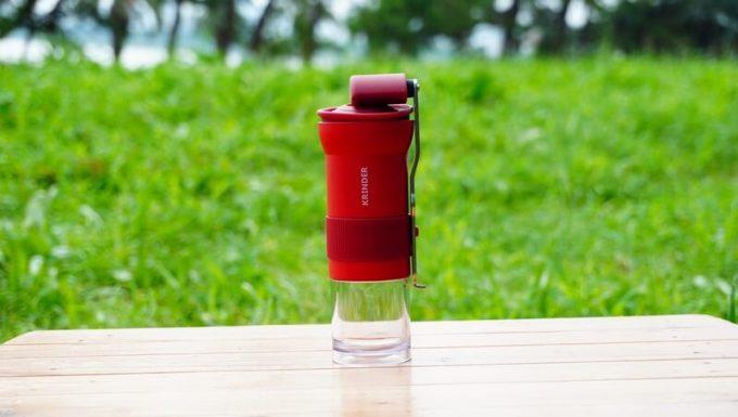 カフラーノのコーヒーミル(クラインダー)