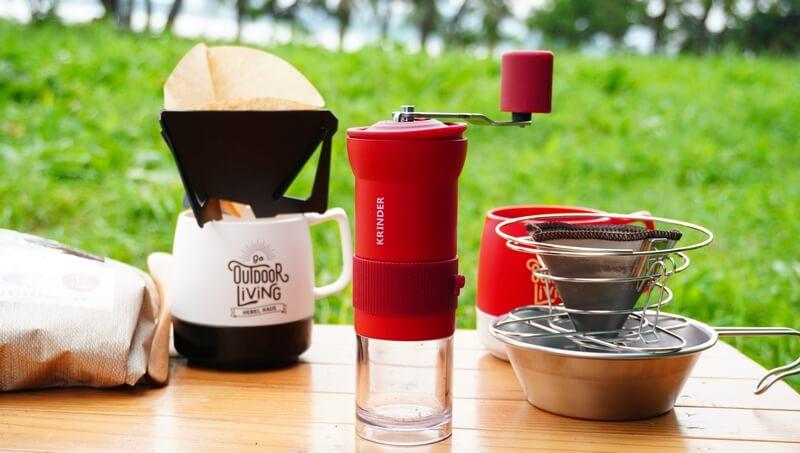 カフラーノのコーヒーミル(クラインダー)とコーヒー道具