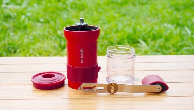 カフラーノのコーヒーミル(クラインダー)の部品