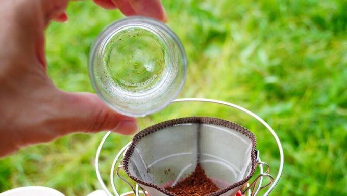 カフラーノのコーヒーミル(クラインダー)の粉受けは豆が残りにくい