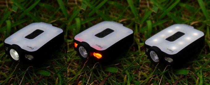 クレイモア キャップオン 40Bの点灯モード